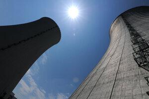 Tretí a štvrtý blok jadrovej elektrárne Mochovce.