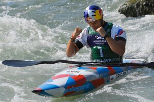 Slovenský vodný slalomár Jakub Grigar - ilustračná fotografia.