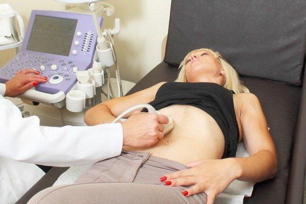 Súčasťou testu je aj vyšetrenie ultrazvukom.