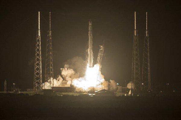 Vesmírna loď súkromnej spoločnosti vyštartovala 21. septembra z Floridy.