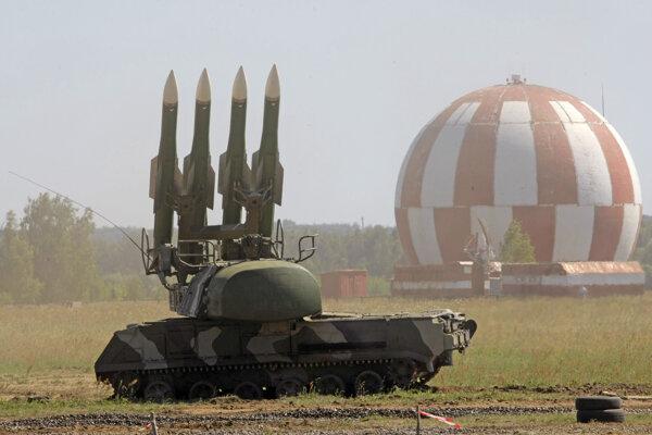 Raketový systém BUK.