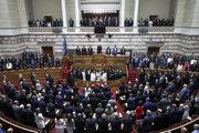 Grécky parlament v novom zložení.