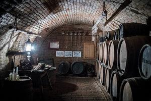 Pivnice slúžili na uchovávanie vín aj potravín.