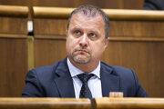 Andrej Hrnčiar - podpredseda parlamentu.