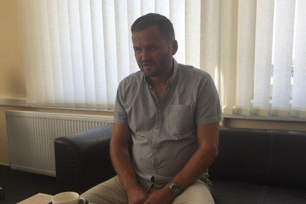 Štefan Olejník za spoločnosť Swietelsky-Slovakia.