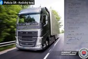 Ukrajinec riadil kamión pod vplyvom alkoholu.