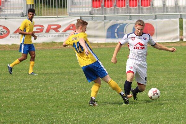Momentka z posledného prípravného zápasu MFK Zvolen.