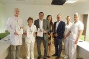 """""""Nemocnici to pridalo prestíž,"""" komentovala ocenenie prednostka Zuzana Décsiová."""