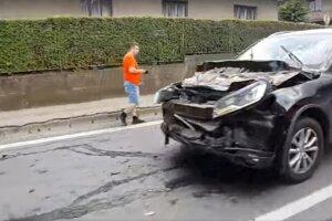 Nehoda sa stala v obci Kapušany.
