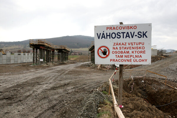 Výstavba rýchlostnej cesty R2 v úseku Zvolen - Pstruša – Kriváň. (ilustračné foto)