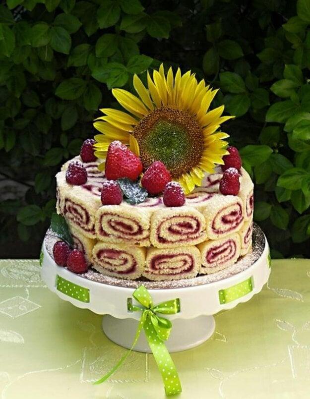 Letná torta