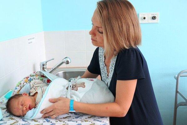 V žilinskej pôrodnici sa v prvom polroku 2019 narodilo takmer 800 detí.