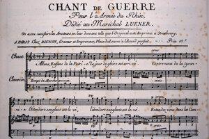 Marseillaisa znela z úst dobrovoľníkov, ktorí v júli 1792 vstúpili do Paríža a pomohli zvrhnúť kráľovskú moc.