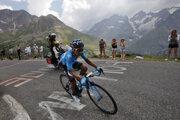 Nairo Quintana počas 18. etapy pretekov Tour de France z Embrunu do Valloire 25. júla 2019.
