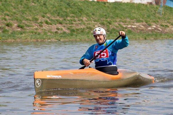 Jaroslav Slučik sa vody nevzdal ani po konci aktívnej kariéry.