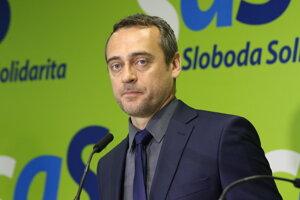 Poslanec Národnej rady SR za opozičnú stranu SaS Jozef Rajtár.