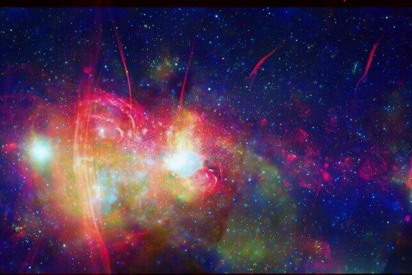 Chandra zachytil aj centrálnu oblasť našej galaxie Mliečna cesta.