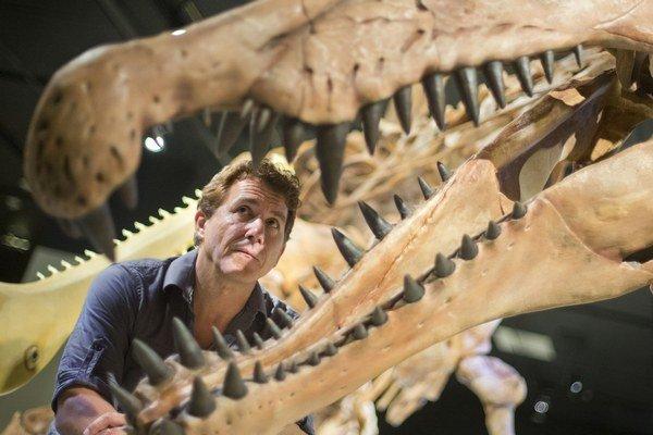 Model dinosaura vo Washingtone.