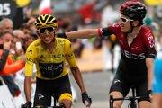 Dvaja najlepší cyklisti tohtoročnej Tour.