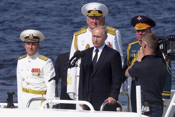 Vladimir Putin, ilsutračná snímka.