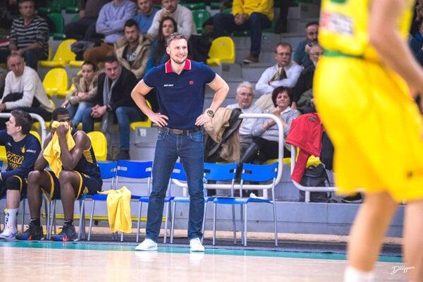 Nový levický tréner Michal Madzin.