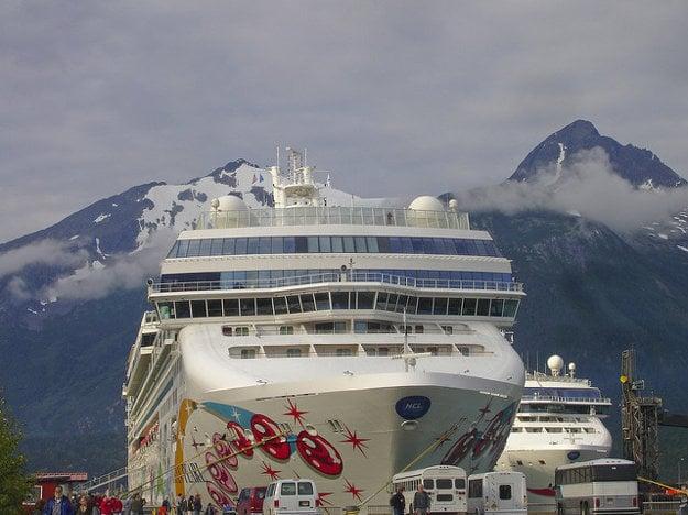 Výletná loď Norwegian Pearl.