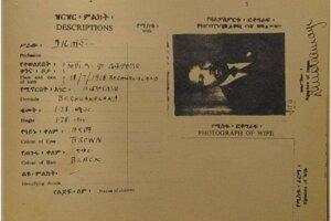 Mandelov pas z čias, keď žil v ilegality a podporu hľadal aj v zahraničí.