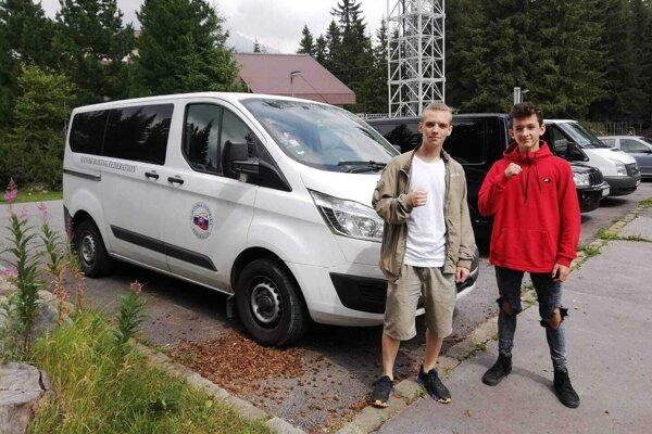 Christopher Bartoň (vľavo) a Samuel Melicher.