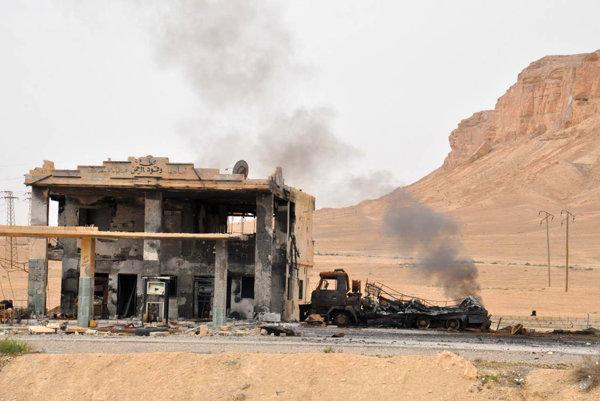 Sýrska armáda vyhnala z Palmýry radikálov z IS.