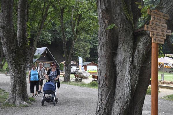 Rekreačné stredisko Alpinka v Košiciach.
