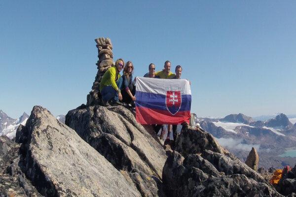 Expedícia Slovákov zanechala v Grónsku svoje stopy.