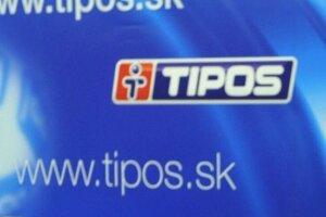 Logo štátnej lotériovej spoločnosti Tipos.