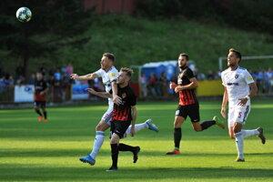 Zápas TJ Jednota Bánová - FC Spartak Trnava v 2. kole Slovnaft Cupu 2019/2020.
