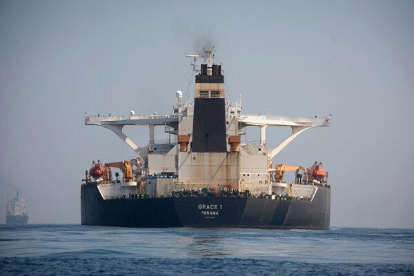 Iránsky supertanker Grace 1.