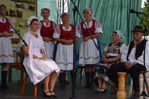 Vystúpenie FS Hrnčiarka.