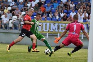 Treťoligový šláger medzi Humenným aPrešovom priniesol výborný futbal.