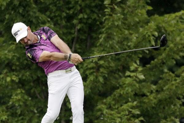 Rory Sabbatini na turnaji PGA Tour v Medinahu.