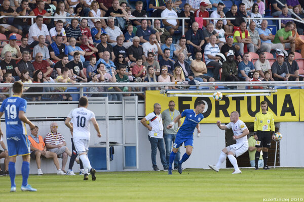 V Zlatých Moravciach diváci gól nevideli.