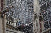 Na katedrále Notre-Dame obnovili čistiace a spevňujúce práce