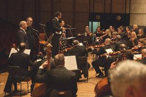 Viki so symfonickým orchestrom.