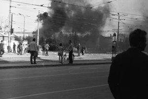 August 1968 v košických uliciach.
