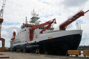 Ilustračná fotografia z nemeckého prístavu Bremerhaven.