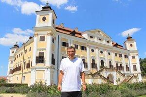 Evžen Boček, kastelán zámku v Miloticiach.