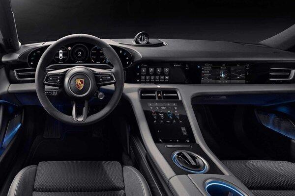 Interiér - Porsche Taycan