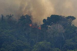 Len minulý týždeň bolo v brazílskej časti Amzonského pralesa aktívnych viac ako 2.500 požiarov.