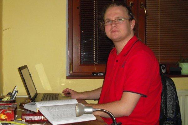 Študent piateho ročníku všeobecného lekárstva Maroš Rudnay.
