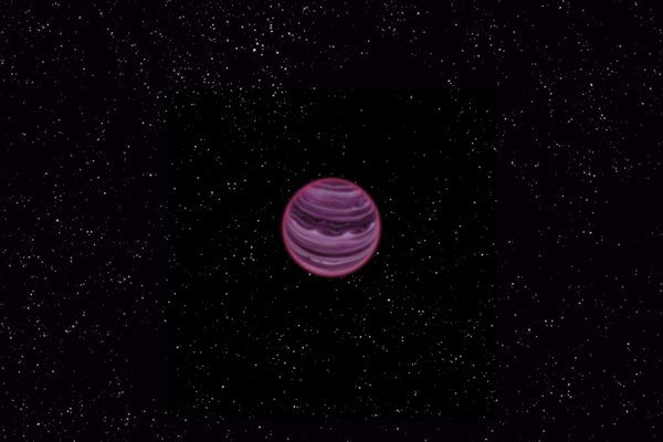 Vzdialená planéta je nomád bez slnka.