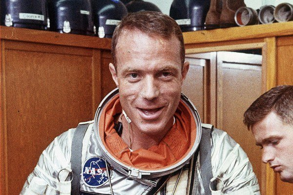 Scott Carpenter.