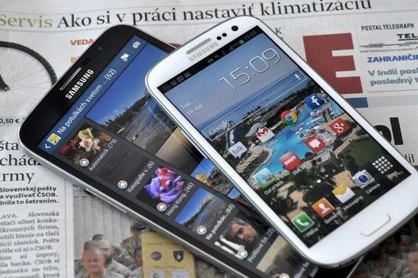Samsung Galaxy Mega a Galaxy S3.