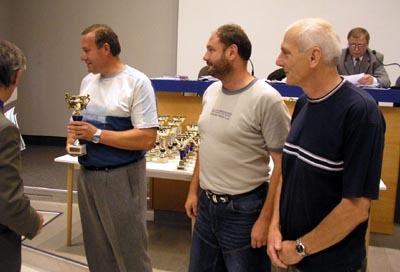 zástupcovia najlepších klubov z v. ligy sk. c. zľava d. ždaňa, radvaň a priechod.